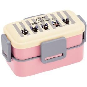 スタジオ ジブリ 猫 弁当箱 / 2段ふわっと弁当箱 600ml ジジ フェイス 魔女の宅急便