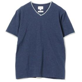[マルイ]【セール】BEAMS / ダブル カラー カットオフ Vネック Tシャツ/ビームス(BEAMS)