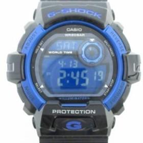 カシオ CASIO 腕時計 美品 G-SHOCK G-8900A メンズ ブルー【中古】