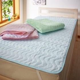 吸水速乾綿混パイルの敷きパッド