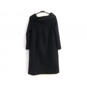 【中古】 ダナキャラン DKNY ワンピース サイズ4 XL レディース 黒