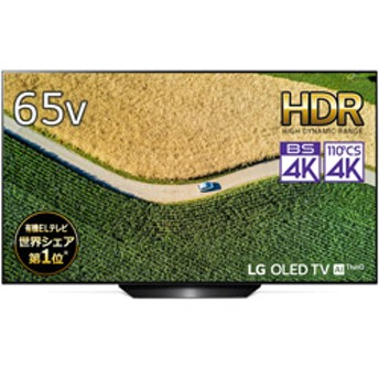 OLED65B9PJA 有機ELテレビ [65V型/BS・CS 4Kチューナー内蔵]【α7 Gen2 Intelligent Processor】