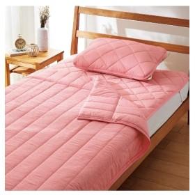接触冷感×吸汗速乾タオル地リバーシブル寝具3点セット タオルケット・肌掛け布団・キルトケット