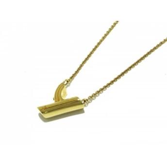 【中古】 ルイヴィトン ネックレス ネックレス・LV & ME Y M61080 真鍮 ゴールド イニシャルYモチーフ