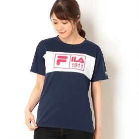 [マルイ] フロント切替Tシャツ/フィラ(FILA)