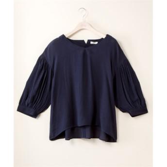 袖ボリュームブラウス 透け素材【Lui Janne】 (大きいサイズレディース) plus size shirts, 衫, 襯衫