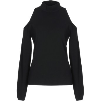 《9/20まで! 限定セール開催中》MICHAEL KORS COLLECTION レディース T シャツ ブラック XL レーヨン 82% / ポリエステル 18%