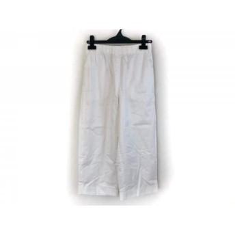 【中古】 トゥモローランド TOMORROWLAND パンツ サイズ34 S レディース 新品同様 白 MACPHEE