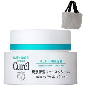 Curel(キュレル) 潤浸保湿フェイスクリーム 40g ファートート付 花王