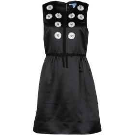 《セール開催中》DRAPER JAMES レディース ミニワンピース&ドレス ブラック 2 ポリエステル 100%