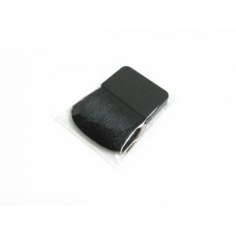 【中古】 シャネル CHANEL 小物 新品同様 黒 メイクブラシ 天然繊維 プラスチック