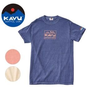 KAVU×FRUIT OF THE ROOM KAVU/カブー ショートスリーブアドベンチャー Tシャツ 19821026 【Tシャツ/半袖/アウトドア】【メール便・代引不可】