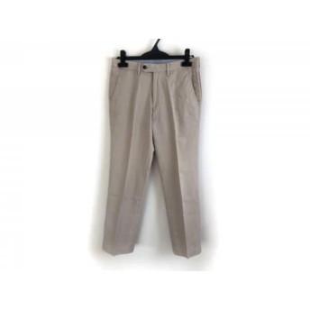 【中古】 トゥモローランド TOMORROWLAND パンツ サイズ44 L メンズ ベージュ