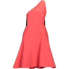 《セール開催中》LES COPAINS レディース ミニワンピース&ドレス コーラル 40 コットン 50% / ポリウレタン 50%