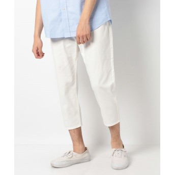 【20%OFF】 エドウィン EDWIN WEEK AND DAY クロップドパンツ メンズ ホワイト XL 【EDWIN】 【セール開催中】