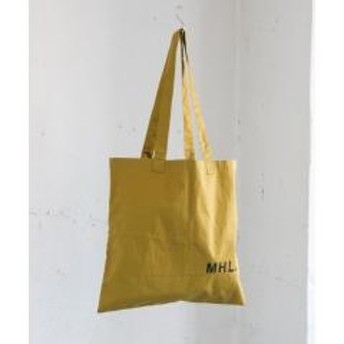 MHL.×URBAN RESEARCH LIGHT COTTON DRILL BAG【お取り寄せ商品】