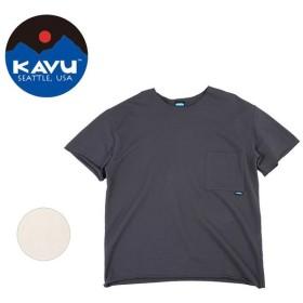 KAVU/カブー ショートスリーブ ロック 19821013 【Tシャツ/半袖/アウトドア】【メール便・代引不可】
