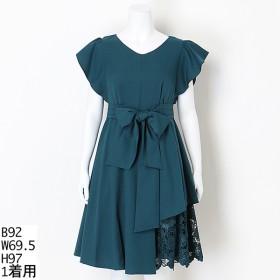 [マルイ]【セール】【大きいサイズ】MintSouffle GAPレングスケミカルレース使いワンピースドレス/ドリードール(Dorry Doll)