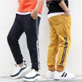 韓國子供服 男女兼用 棉 カジュアルパンツ 秋著 トレーニングパンツ スウェット 長ズボン 子ども服 キッズ用 ジュニア レジャ