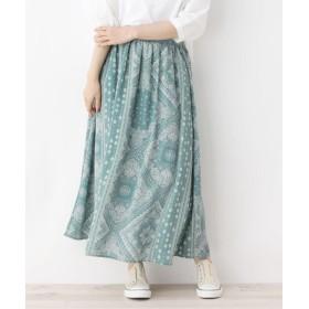SHOO・LA・RUE/Cutie Blonde(シューラルー) 柄ギャザースカート
