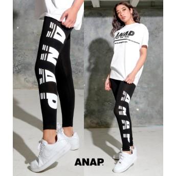 【セール開催中】ANAP(アナップ)ANAPロゴプリントレギンス