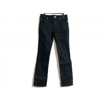 【中古】 アニエスベー agnes b パンツ サイズ12 L レディース 黒