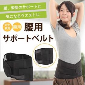 【gracewell腰用ベルト】腰椎ボーン内蔵 SからXLまで4つのサイズをご用意人間工学による設計 大きいサイズあり背面メッシュ素材採用で蒸れにくい!简易包装(OPP袋)コルセット くびれ ニッパ