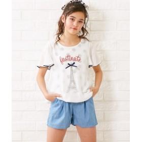 4.5オンスデニムショートパンツ(女の子 子供服 ジュニア服) パンツ