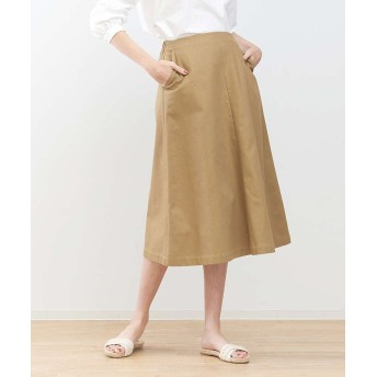 【40%OFF】 collex トラペーズラインスカート レディース キャメル F 【collex】 【セール開催中】