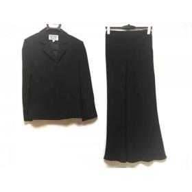 【中古】 ナチュラルビューティー NATURAL BEAUTY スカートスーツ サイズ6 M レディース 黒