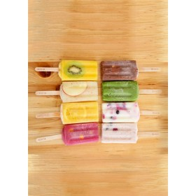 ブロック ナチュラルアイスクリーム スタンダードアイスキャンディー 10本セット