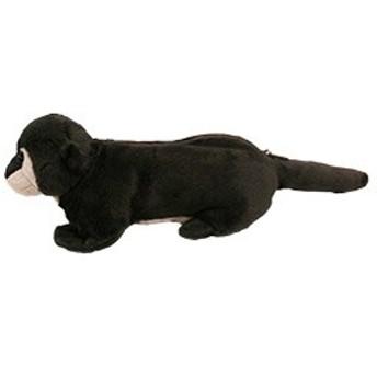 TST アニマルポーチ コツメカワウソ ぬいぐるみ おもちゃ 動物 自然 ヌイグルミ クリスマス フィギュア プレゼント
