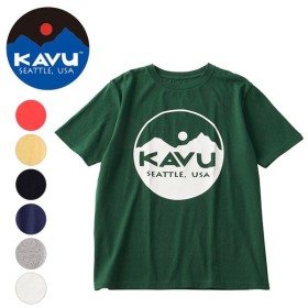 KAVU/カブー サークルロゴTee 19821020 【Tシャツ/アウトドア】【メール便・代引不可】