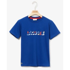 3DシルエットネームプリントボーイズTシャツ