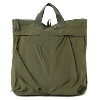 BEAMS BOY / 3Way ヘルメット バッグ レディース トートバッグ OLIVE ONE SIZE