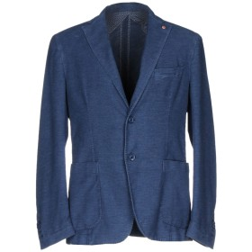 《セール開催中》JERRY KEY メンズ テーラードジャケット パステルブルー 44 コットン 90% / ポリエステル 8% / ポリウレタン 2%