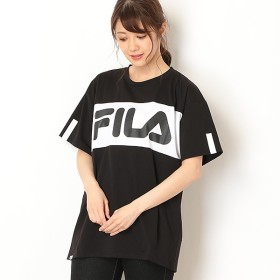 [マルイ] ビックシルエットフロント切替Tシャツ/フィラ(FILA)
