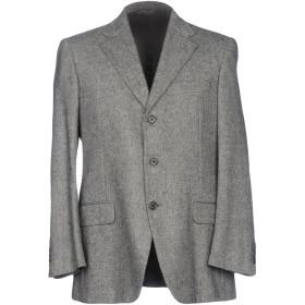 《期間限定セール中》BURBERRY メンズ テーラードジャケット グレー 56 ウール 92% / カシミヤ 8%