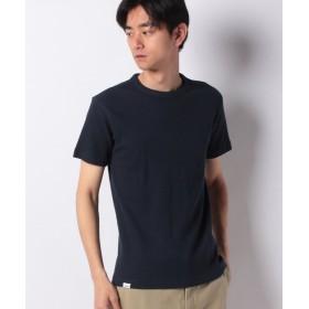 エドウィン EDWIN ワッフル クルーネック Tシャツ 半袖 メンズ ネイビー L 【EDWIN】
