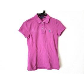 【中古】 ラルフローレン RalphLauren 半袖ポロシャツ サイズXS レディース 美品 ピンク