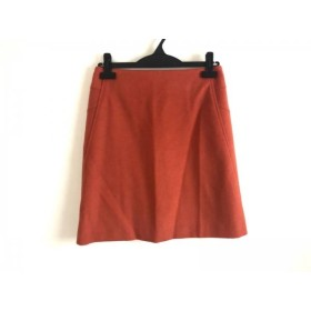【中古】 トゥモローランド TOMORROWLAND スカート サイズ38 M レディース 美品 オレンジ collection