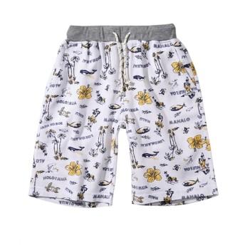 プリペラ素材海柄ハーフパンツ(男の子 子供服。ジュニア服) パンツ
