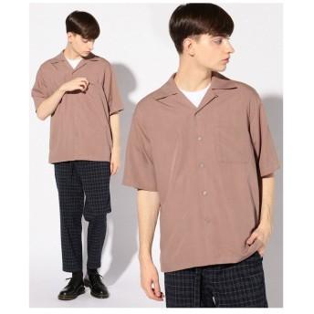 【50%OFF】 メンズビギ オープンカラーシャツ/開襟シャツ メンズ ピンク S 【Men's Bigi】 【セール開催中】
