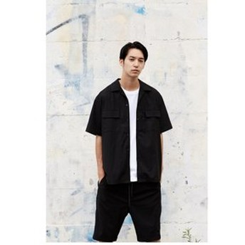 【AZUL by moussy:トップス】【MEN'S】BIG半袖シャツ