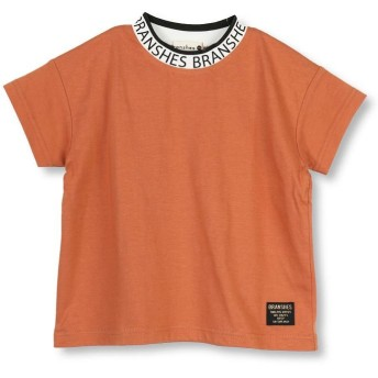 【50%OFF】 ブランシェス ロゴ襟半袖Tシャツ(80~150cm) レディース オレンジ 110cm 【branshes】 【セール開催中】