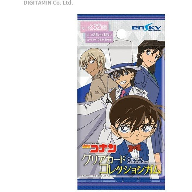 初回限定版 エンスカイ 名探偵コナン クリアカードコレクションガム 食玩 (1BOX) (ZT61246)