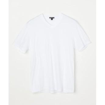 トゥモローランド リュクス ジャージーVネックTシャツ MELJ3248 メンズ 11ホワイト 2(L) 【TOMORROWLAND】