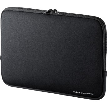 MacBook Air 13インチ専用インナーケース(ブラック) サンワダイレクト サンワサプライ IN-MACA1301BK