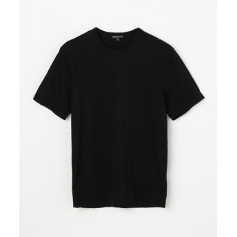 トゥモローランド リュクス ジャージークルーネックTシャツ MELJ3199 メンズ 19ブラック 3(LL) 【TOMORROWLAND】