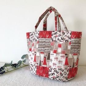 たっぷり入る デザイントートbag